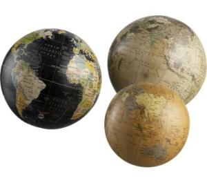 Crate & Barrel Globes